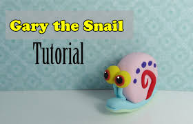 gary the snail tutorial by missclaycreations youtube