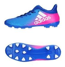 Sho Hg adidas cleats x 16 3 hg tech fit soccer football blue shoes