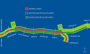 Chicago Tolls Map by Finally 91 Express Lanes Opening Monday Here U0027s All You Need To