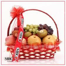 Fruit Basket Deluxe Fruit Basket 10 Types Of Fruits Mbg Fruit Shop