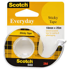 sticky tape officeworks