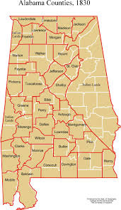 Map Of Colorado Counties by Alabama Maps Historic
