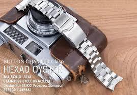 seiko steel bracelet images Seiko watch bracelet 22mm hexad oyster 316l stainless steel watch jpg