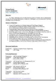 sample resume electrical engineer fresher professional resumes