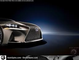 where do they lexus cars motor if the lexus is looks like this do they