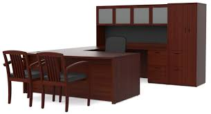 l shaped desk with filing cabinet bush fairview collection