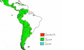 Map Of Latin America by 5 Differences Spanish In Spain And Mexico Language Tsar