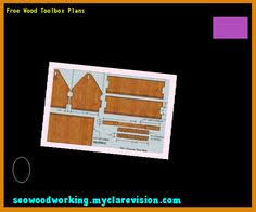 wooden carpenters toolbox plans 122124 woodworking plans and