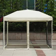 Patio Canopies And Gazebos by Beige Ikayaa 3 3 2 6m Folding Outdoor Patio Canopy Gazebo Tent