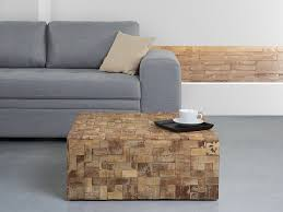 teak wood square coffee table gambo