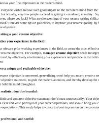 resume objectives exles generalizations extraordinary design great objectives for resumes 11 criminal