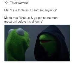 Thanksgiving Memes Tumblr - snitchy kermit tumblr