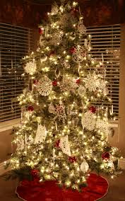 nice tips on decorating a christmas tree interior with silver fake