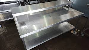 used stainless steel tables for sale used stainless steel table stand 160cmw x 75cmd x 73cmh h2