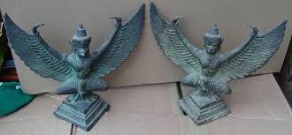ethnographic arms armour gate post ornaments