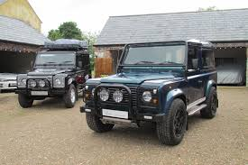 old land rover defender for sale 1999 land rover defender v8 overfinch 50th anniversary