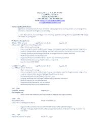 Best Resume Lawyer by Summary Of Qualifications Resume Example Berathen Com