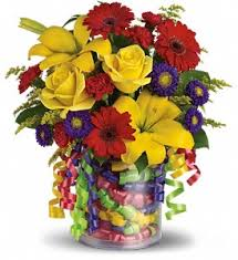 Tallahassee Flower Shops - teleflora u0027s birthday ribbon bouquet in tallahassee fl busy bee