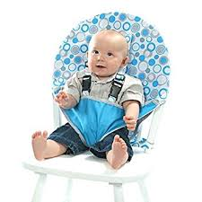 Baby Learn To Sit Chair Amazon Com My Little Seat Infant Travel High Chair Hula Loops