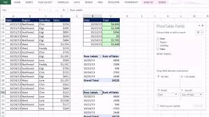 monthly sales report template excel daily sales report format in excel 2 cccccca office 2013 class 22 excel basics 04 pivottables are easy
