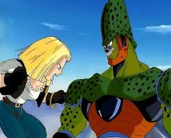 android 18 and cell cell vs android 18 dreager1 s