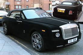 see velvet rolls royce 300k supercar given furry makeover uk