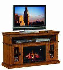 Oak Electric Fireplace Hanging Electric Fireplace Foter