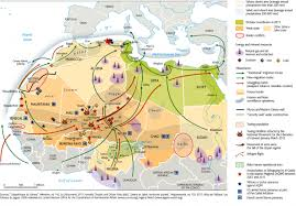 sahel desert map sahel movements and routes as of 31 march 2012 niger