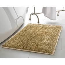 home butter chenille bath rug reviews wayfair