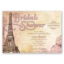 wedding shower invitations eiffel tower bridal shower invitation invitations by