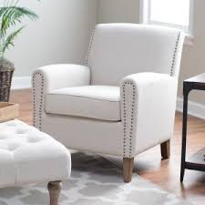 White Accent Chair Accent Chairs Hayneedle