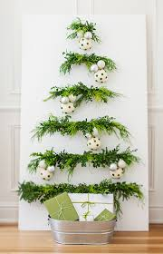 greenery and ornaments christmas tree