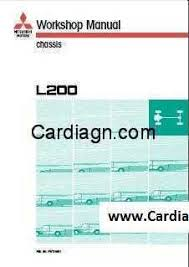 mitsubishi l200 1996 workshop service repair manual pdf pdf free
