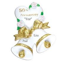 50th anniversary ornaments personalized christmas ornaments by orinda s originals inc