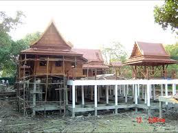 traditional thai houses baan song thai