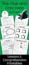 the one and only ivan lessons comprehension printables