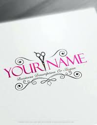 charming hair stylist business card templates size free logos