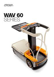 order picker wav 60 brochure crown pdf catalogue technical
