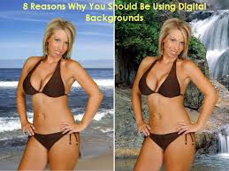 digital backgrounds woman in on digital background jpg
