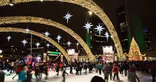 christmas light show toronto toronto is hosting a massive outdoor light show at nathan phillips