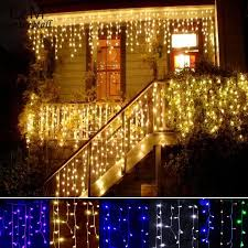 New Year Garden Decoration by Cheap Christmas Outdoor Decoration 3 5m Droop 0 3 0 5m Curtain