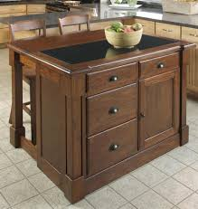 buy granite butcher block top kitchen island w bead board exterior mobile kitchen island trash bin w 3 shelf pantry