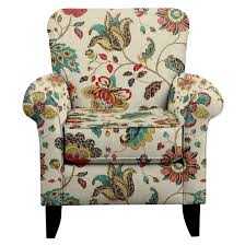 tracy chair w spring mix poppy fabric value city furniture