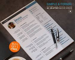 Formal Resume Template 102 Best Unique And Clean Resume Template Images On Pinterest