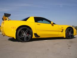 yellow corvette c5 member ride z rocks yellow c5 z06 with machined c6 z06