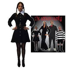 Wednesday Addams Costume The Addams Family U2013 Wednesday Addams Make Believe Costume Hire