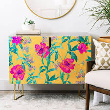 decor home furnishings in blossom u0027 credenza u0026 decor denydesigns denydesigns home