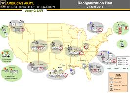 map us army bases brigade combat teams cut at 10 posts will help other bcts grow