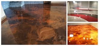 epoxy flooring concrete resurfacing staining columbus