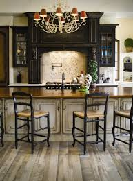 black kitchens designs kitchen casual kitchen design ideas using kitchen pan wall decor